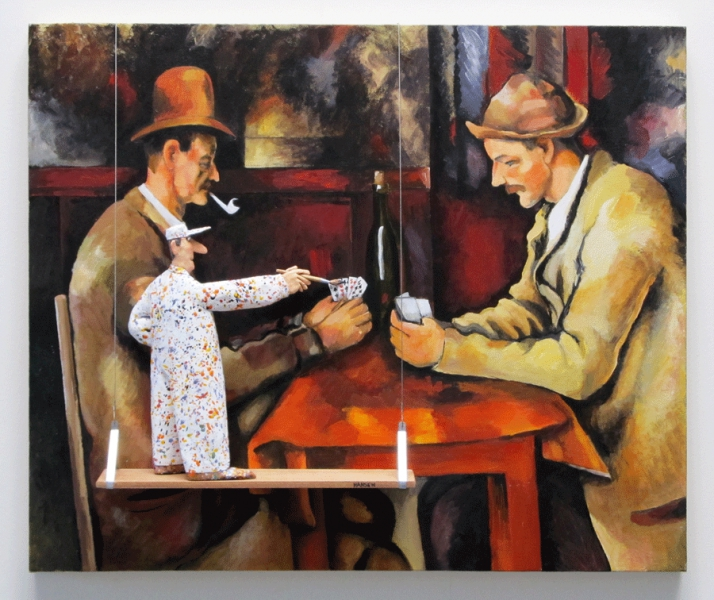The Card Players (Cezanne) by Stephen Hansen